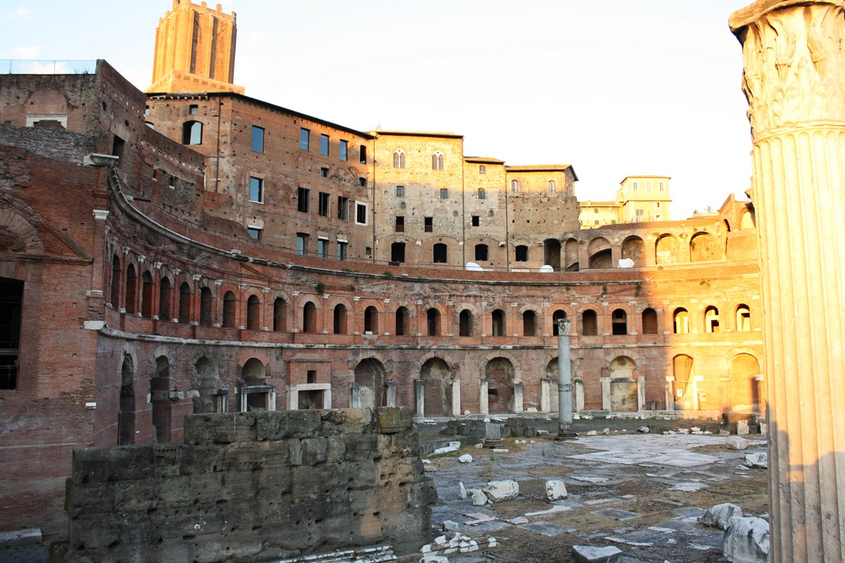 Markets Of Trajan 4
