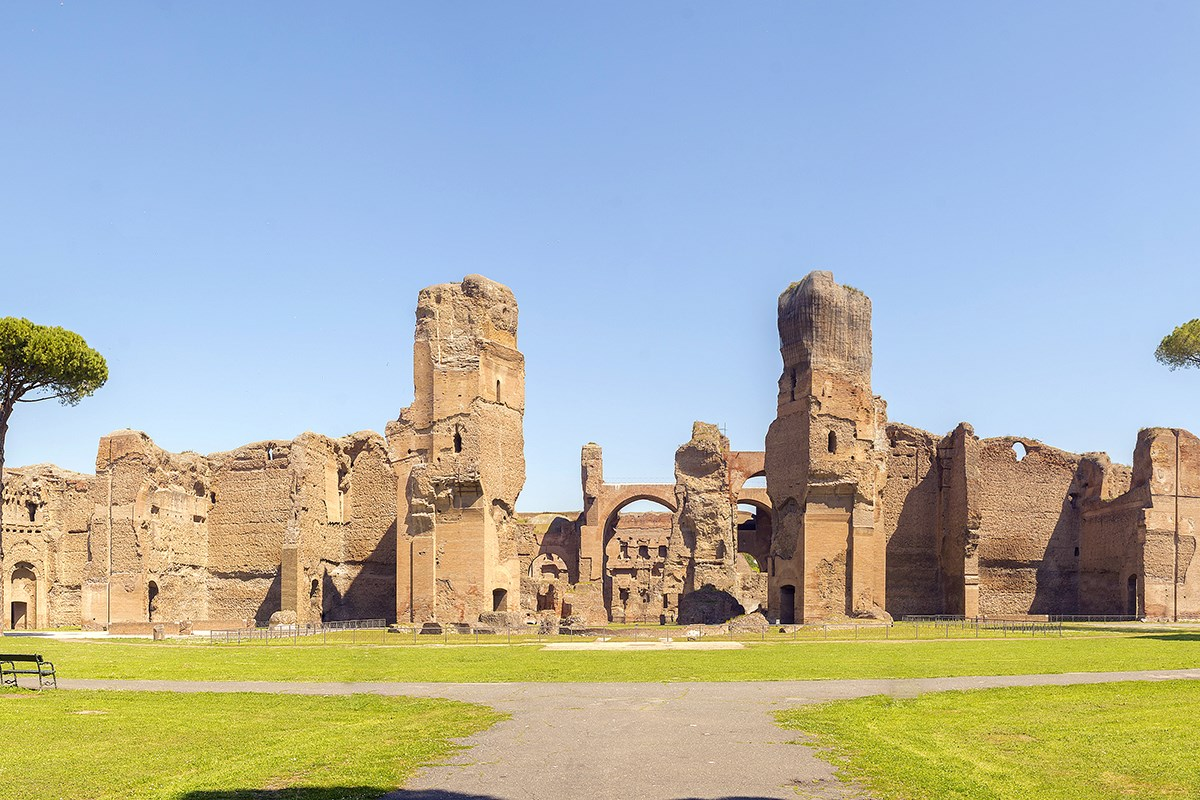 Baths Caracalla Panorama